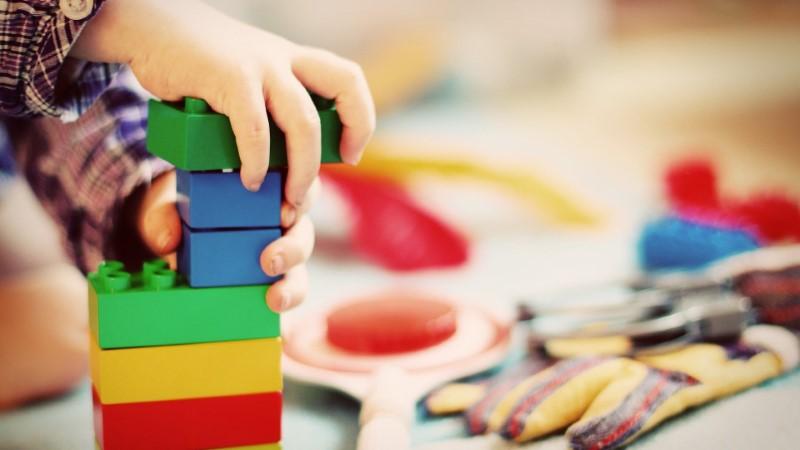 Lesene igračke - lesene kocke